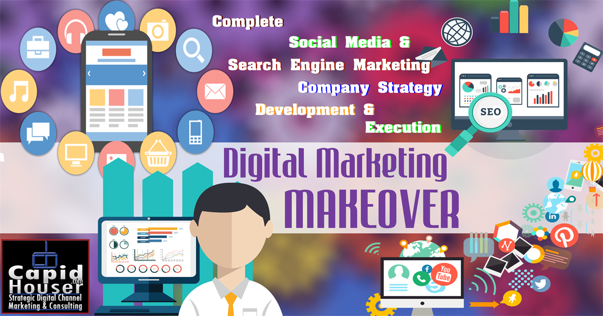 Digital Marketing Makeover – social media and digital